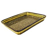 "13"" Rectangular Baking Pan - Pattern DU1"