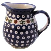 Polish Pottery Pitchers