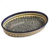"14"" Oval Baking Pan - Pattern DU1"