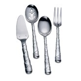 Stainless Flatware Captiva 4 Piece Hostess Set
