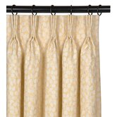 Ella Tulah Cotton Pleated Curtain Single Panel