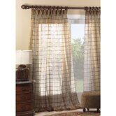 Vaughan Veneta Cotton Embroidered Sheer Curtain Panel