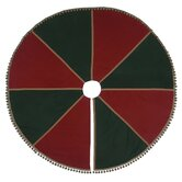 Holiday Folkloric Gable Trim Tree Skirt