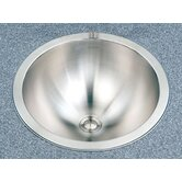 Club Topmount Conical Bathroom Sink in Satin