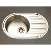 Hospitality Topmount Bar/Prep 19 Gauge Sink in Satin