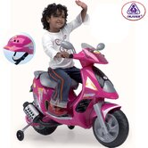 Scooter Duo 6V in Pink