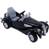 Kalee Classic Car in Black (Remote Controlled)