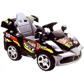 Mini Motos Star Car in Black (Remote Controlled)