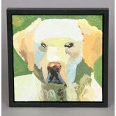 Golden Lab Original Oil Painting