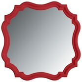 Coastal Living Piecrust Mirror