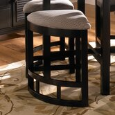 Mirren Pointe Upholstered Seat Wedge Counter Stool