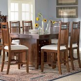 Vantana 7 Piece Counter Height Dining Set