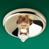 Mini Halogen Downlight in Brass