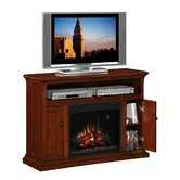 "Advantage Cannes 48"" TV Stand with Electric Fireplace"