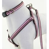Darla Pink and Brown Dog Harness