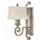 Kingsley  Wall Sconce in Silver Leaf