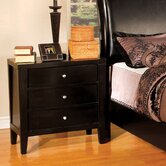 Clayton 3 Drawer Nightstand