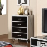 Modesto 4 Drawer Metal Chest