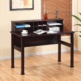 Chelsia Basic Office Desk with Hutch