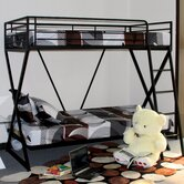 Manzini Twin over Twin Bunk Bed