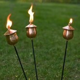 Copper Mini Torches Set