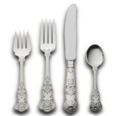 Queens 4 Piece Dinner Flatware Set