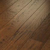 "Epic Pebble Hill 5"" Engineered Hickory Flooring in Burnt Barnboard"