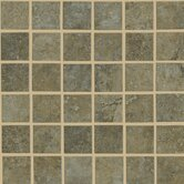 Lunar Mosaic Tile Accent in Beige