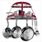 2 Shelf Wall Mount Pot Rack