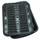 Porcelain Broiler Pan 2 Pack