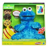 Sesame Street Playskool Count'N Crunch Cookie Monster Figure