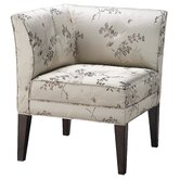 Accent Seating Corner Fabric Arm Chair