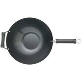Pure Oriental 35.5cm Carbon Steel Non-Stick Wok