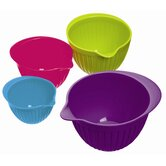 Colourworks Four Piece Measuring Bowl Set