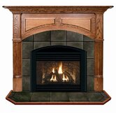 Geneva Flush Fireplace Mantel with Large Opening