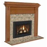 Royalton Flush Fireplace Mantel with Large Opening