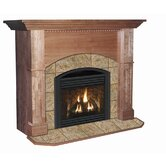 Deluxe Manchester Flush Fireplace Mantel