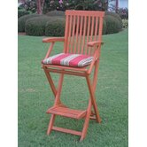 International Caravan Outdoor Barstools