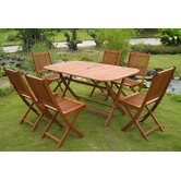 Royal Tahiti Galende 7 Piece Dining Set