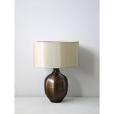 Rubianne Table Lamp in Mocha with Pebble Shade