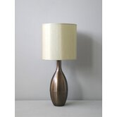 Juggler Table Lamp in Mocha with Pebble Shade
