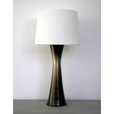 Fade and Burst Skyscraper Table Lamp in Mocha