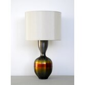 Horizon Ruby Table Lamp with Pebble Shade