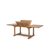 Teak Rectangle Extension Dining Table