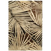 Palms Coconut/Brown Rug
