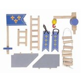 Castle Accessories Set in Blue