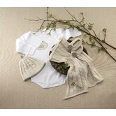 &quot;Feathering the Nest&quot; 4 Piece Layette Gift Set
