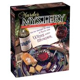 A Taste of Wine and Murder Mystery Party Game