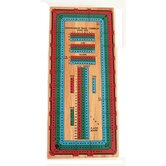 Three Track Color Cribbage Board