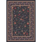 Pastiche Hampshire Floral Ebony Rug